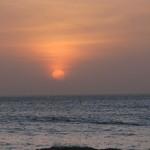 Senegal / Popenguine / Sonnenuntergang im Meer