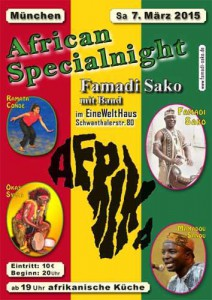 Famadi Konzert Flyer 070305